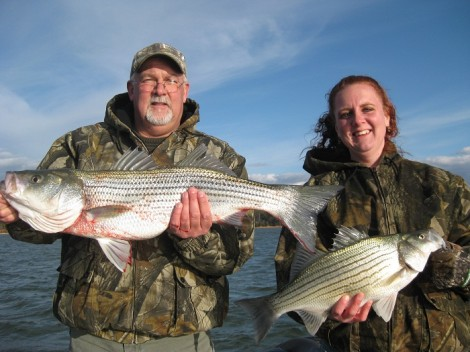 Guided striped bass fishing charters in south carolina for Lake hartwell striper fishing report