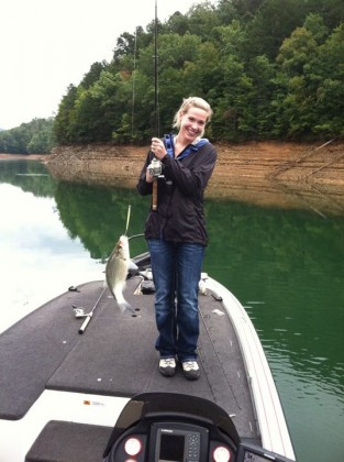 Fishing the smokeys with up close outfitters up close for Fontana lake fishing