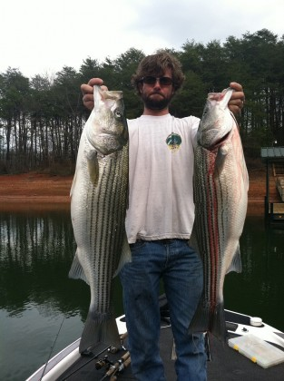 Spartanburg to lake hartwell fishing charters report for Fishing lake hartwell