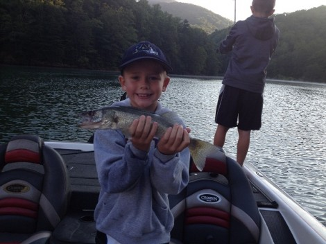 Asheville nc fishing charters guides outfitters for Fontana lake fishing