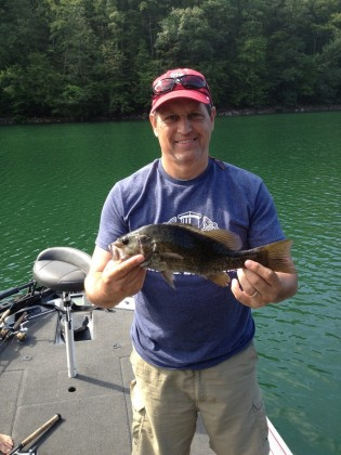 Fishing nc mountains with upclose outfitters up close for Fontana lake fishing