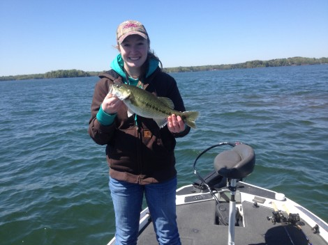 Guided fishing on Lake Hartwell