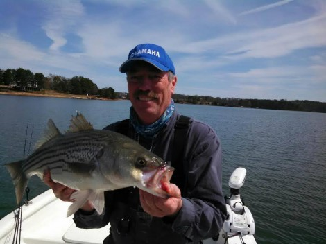 fishing charters on Lake hartwell