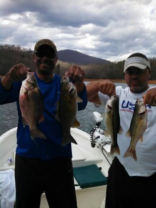Bryson City smallmouth fishing charters