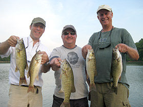 Fontana Smallmouth Guides